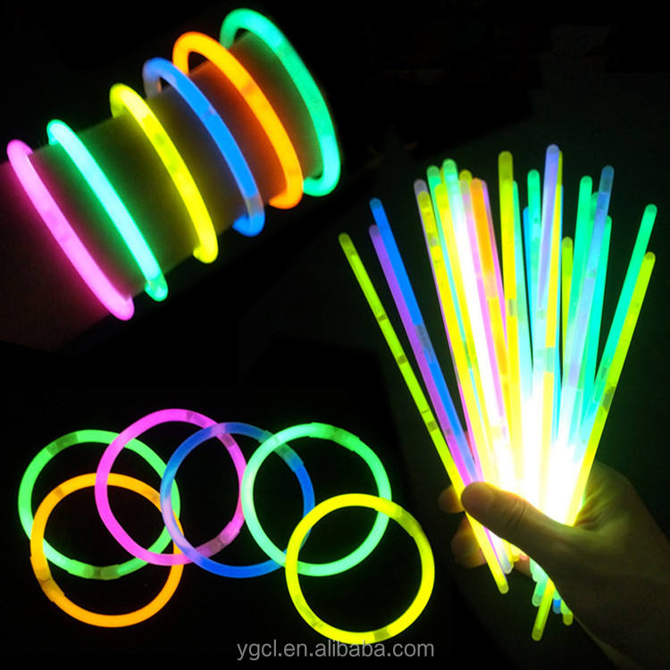 8 ''Awesome Party Decorations Glow Stick Wholesale Glow Light Bracelet
