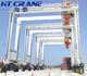 rubber tired container gantry crane 40ton