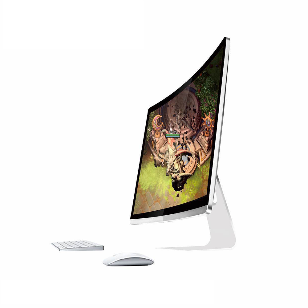 32 inch touch screen 4k curved monitor