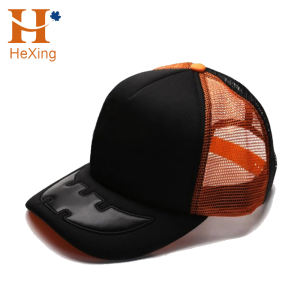 High quality customize 3D embroidery half mesh trucker cap wholesales truck hat