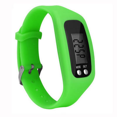 2D Pedometer smart watch wristband with battery for promotion