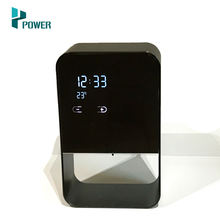 Aluminum alloy display time temperature battery level electric soap dispenser automatic