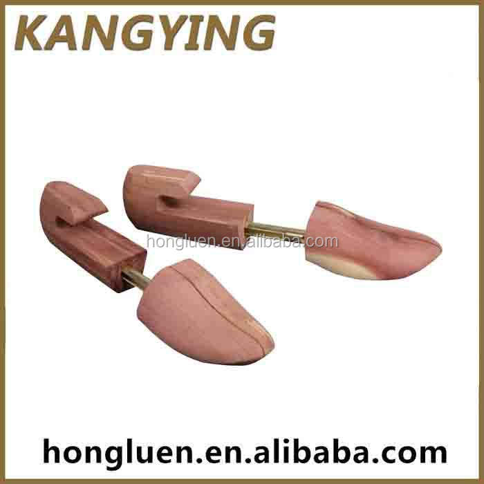 Wholesale Different Color Protect From Crease Shoe Tree Cedar