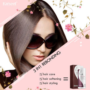 karseell lightness hair straightening silky best permanent 3in1 hair rebonding cream
