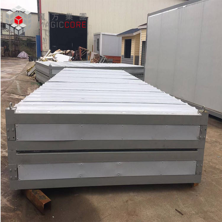 Kustom Sandwich Panel 20ft 40ft Hidup Flat Pack Kontainer <span class=keywords><strong>Rumah</strong></span> Ponsel Modern Prefab Container Office