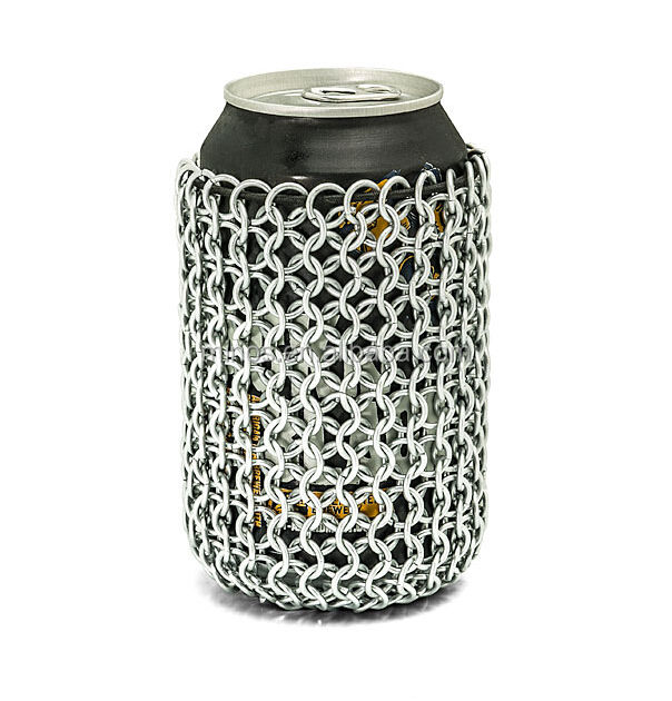 Rvs <span class=keywords><strong>Chainmail</strong></span> Kan Mouw, <span class=keywords><strong>Chainmail</strong></span> Fles Sleeve Bag, Metalen <span class=keywords><strong>Chainmail</strong></span> Fabriek