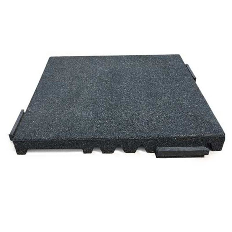 Soft high density rubber floor tile cheap gym landing rubber flooring mats