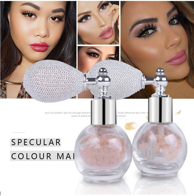 Oem Private label 4 colors Hot Products Spray loose powder makeup Body Face Glitter Spray Highlighter Airbag Glitter