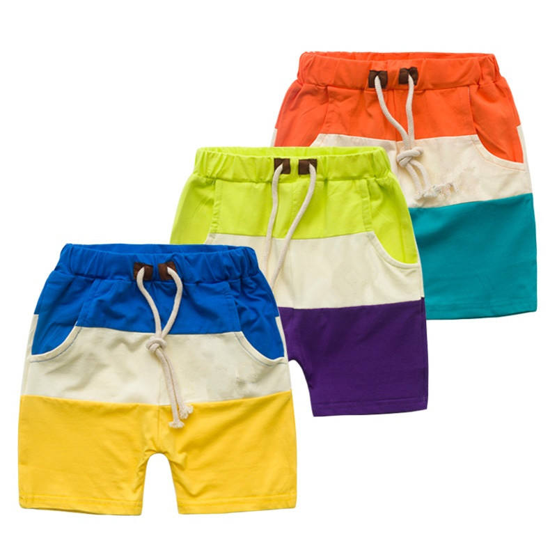 Newborn Baby Three Tones Elastic Summer Wear Shorts Buy Direct China