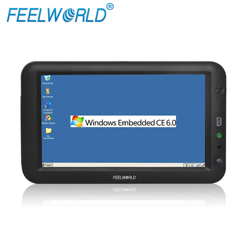 Feelworld 7'' all in one pc win CE 6.O RS232 wince data terminal pc monitor for industrial control