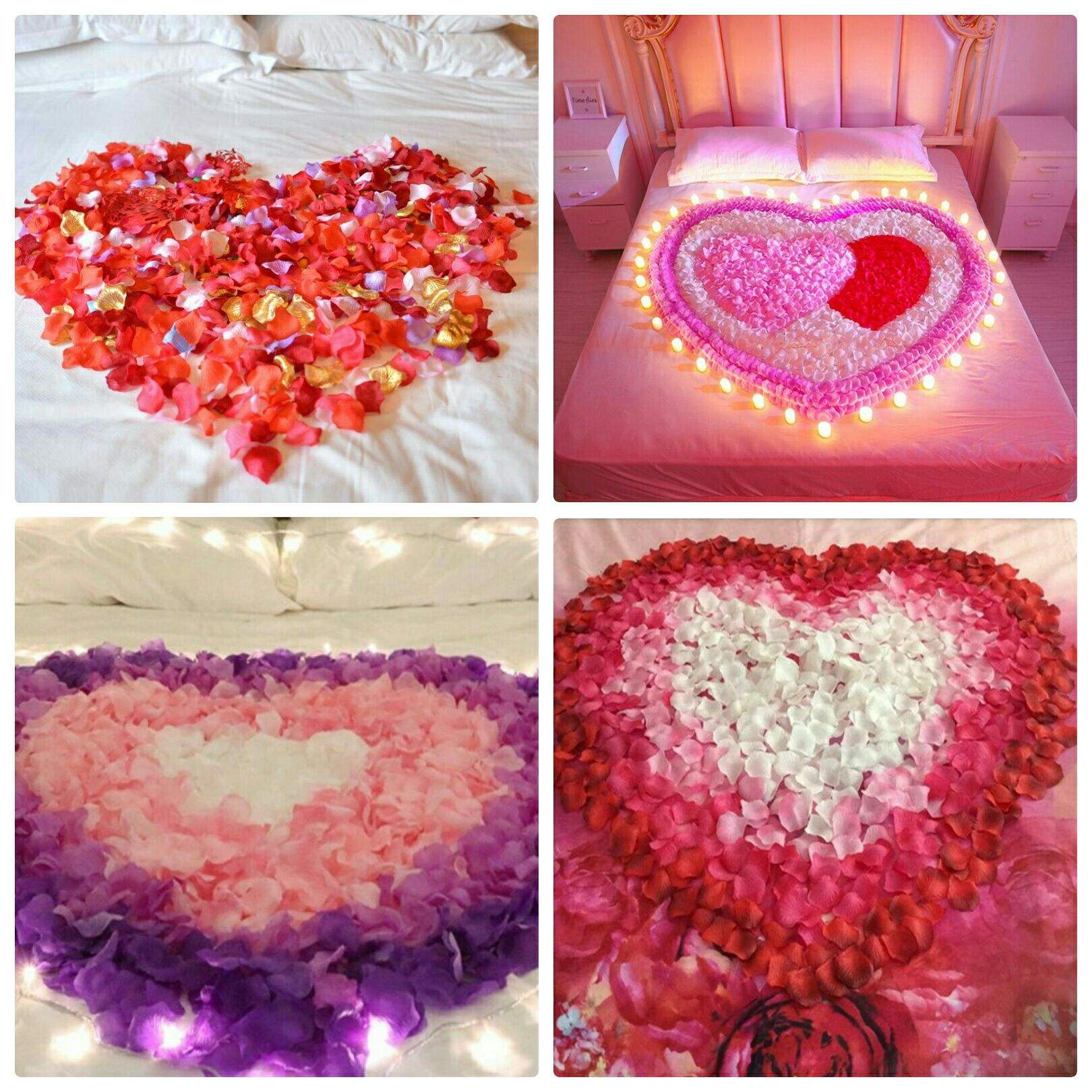 Wedding Party Decoration Rose Petals Beautiful Artificial Flower Silk Petals