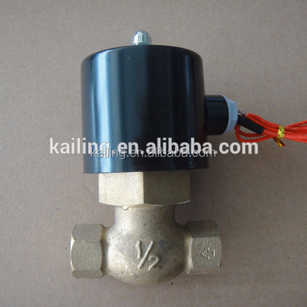 steam iron solenoid valve/ 2 way steam brass water valve /AC220V,AC24V, DC24V, DC12V