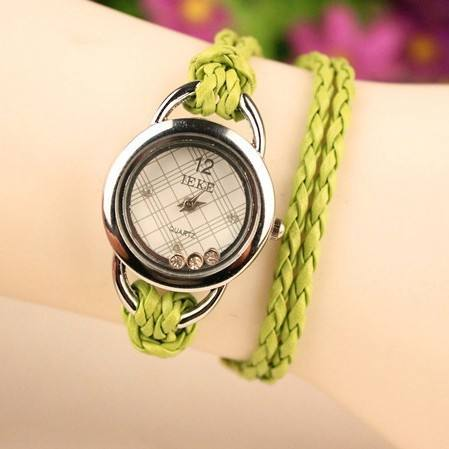 Crystal Dial All Colors Stock Newest Arrival Women Bracelet Watch Korea Style Wrist Watch