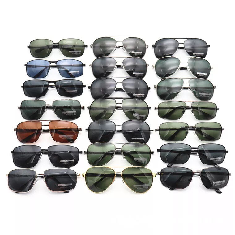 assorted ready made mixed metal wholesale polarized driving stock sunglasses color uv400