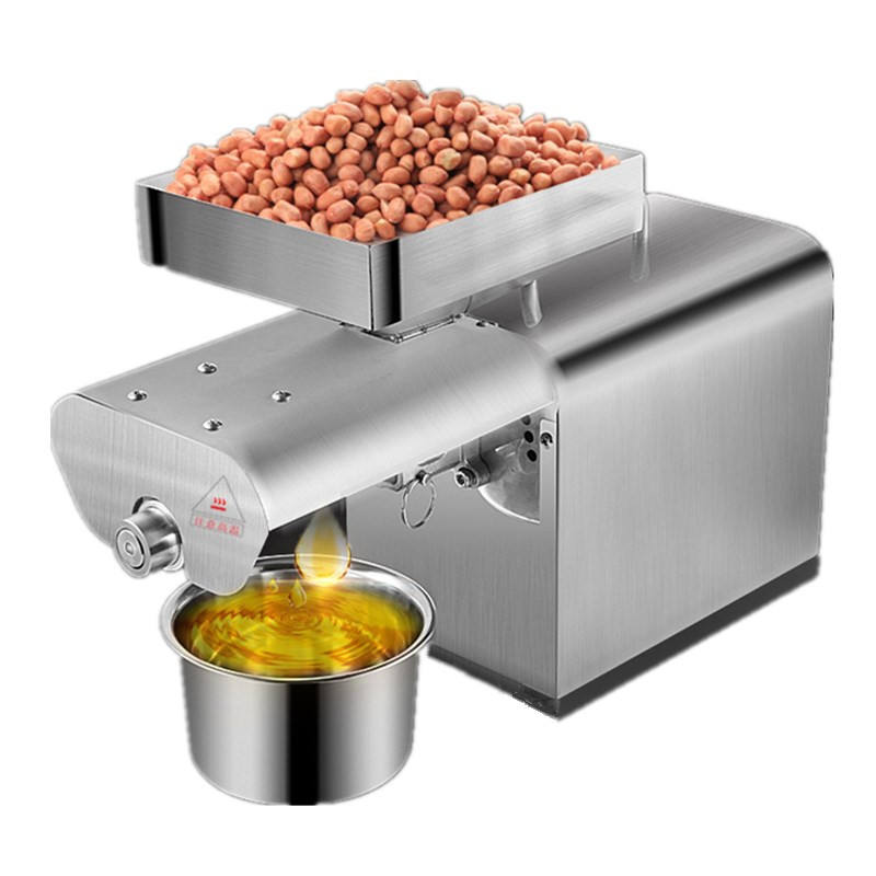 Home mini oil press olive oil extraction machine sunflower seed soybean expeller machine price