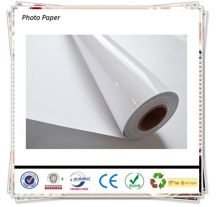 115gsm/135gsm/160gsm/180gsm/200gsm/230gsm Inkjet Digital Glossy Photo Paper In Rolls