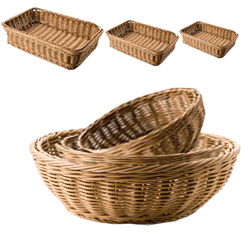 Handmade Jute Liner Wooden decorative storage basket
