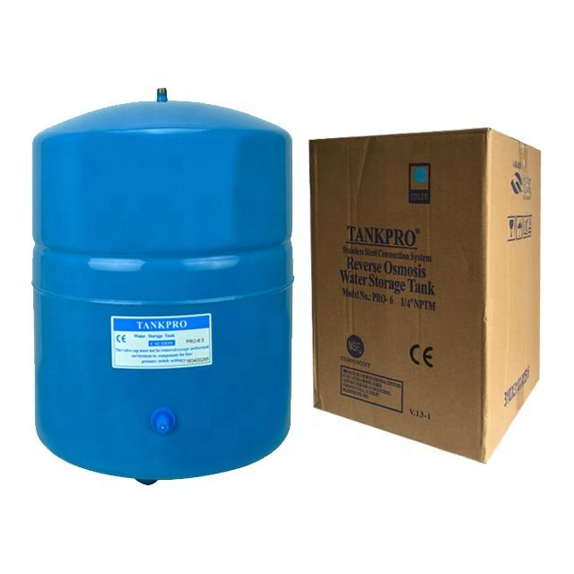 Top quality Tankpro brand 6.5G metal RO water Storage pressure tank for water purifier
