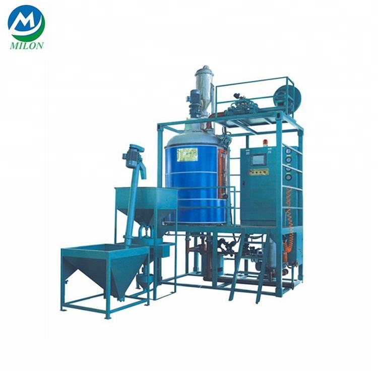 Professional Eps Basic Type Batch Pre-expander Polystyrene Foaming Machine