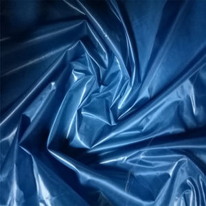 300T nylon taffeta fabric with PU coated down coat fabric
