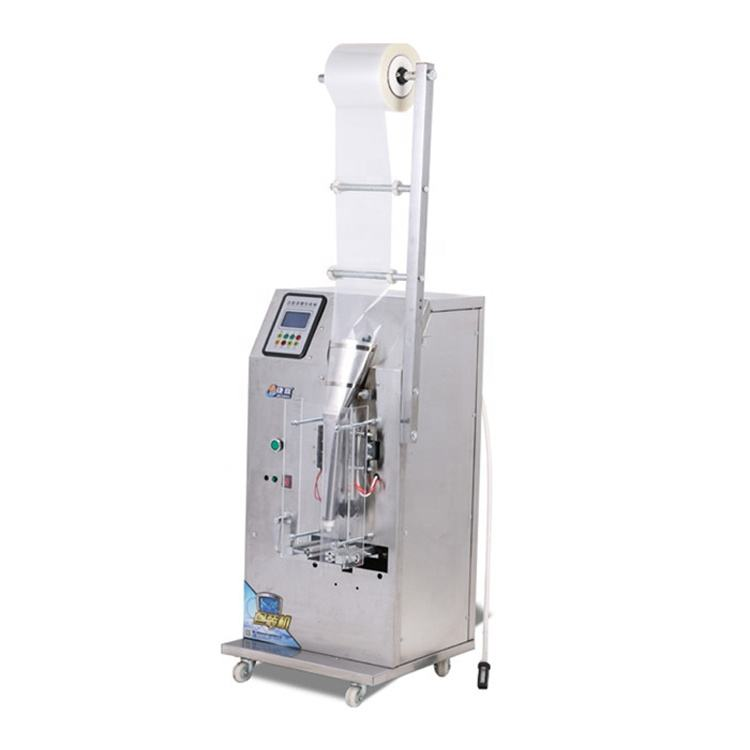 200g pure liquid filling three side sealing package machine