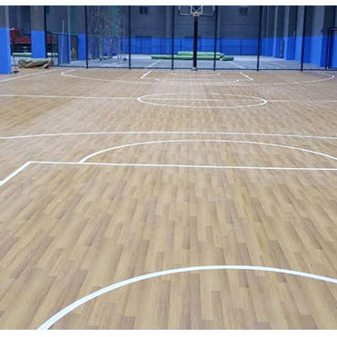 Cheap Plastic PVC Basketball Court Sports Flooring Indoor Basketball Wood Flooring