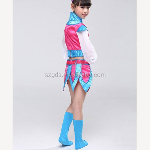Wholesale New high quality Children minority dance Costumes kids fancy dress costumes