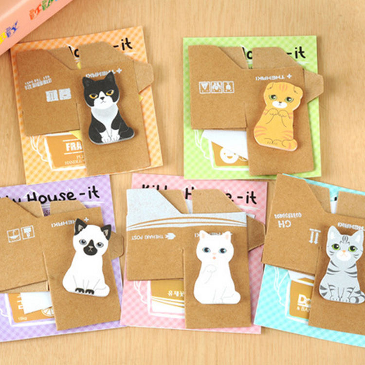 Personality Cute Carton Cartoon Kawaii Creative Sticky Note