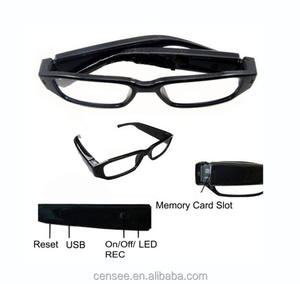 HD 1080P Glasses Hidden Camera Eyewear Security Cam Video Recorder Camcorder Camera Eye Glasses