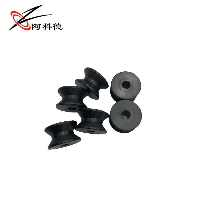 factory direct sale plastic pom pulley wheel hook cable roller PA66 nylon small size cable sheave pulley