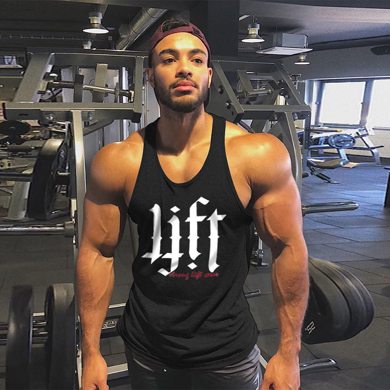 Mouwloze Tank Top Mannen Droge Fit Tank Top Mannen Workout Tank Top Mannen Bodybuilding Kleding Voor Turnkleding