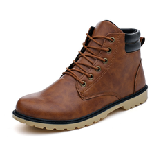 up-0373r Fashion casual shoes cheap men work snow boots wholesale