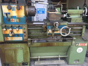 Taiwan high-precision 400*700mm used lathe