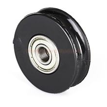 OEM 8 mm v groove belt idler guide pulley
