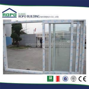 Alemana Veka uPVC patio puerta corredera de diseño apilador