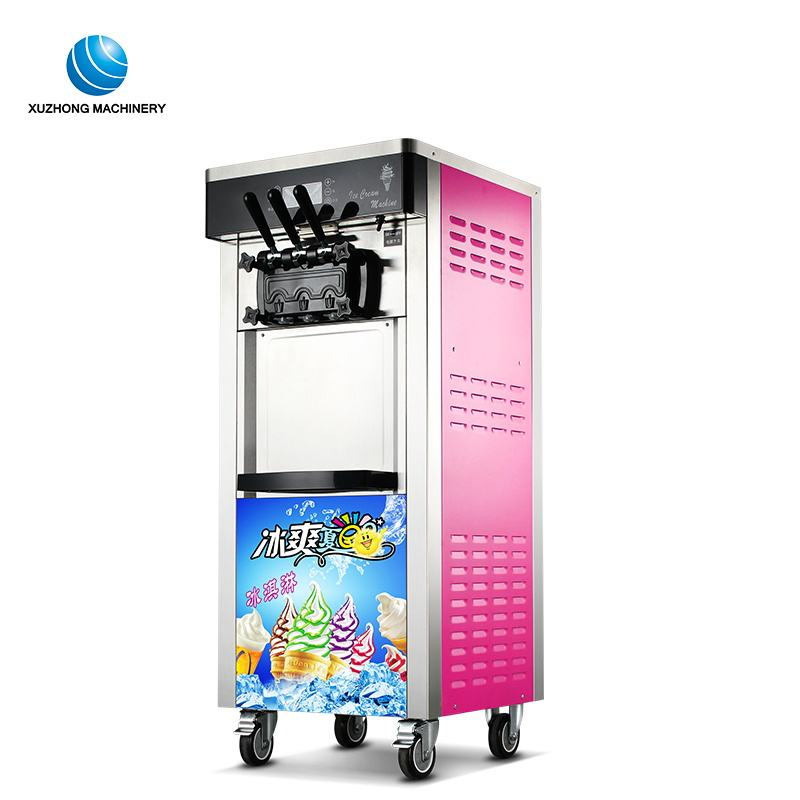commercial instant mobile ice cream machine portable ice cream maker