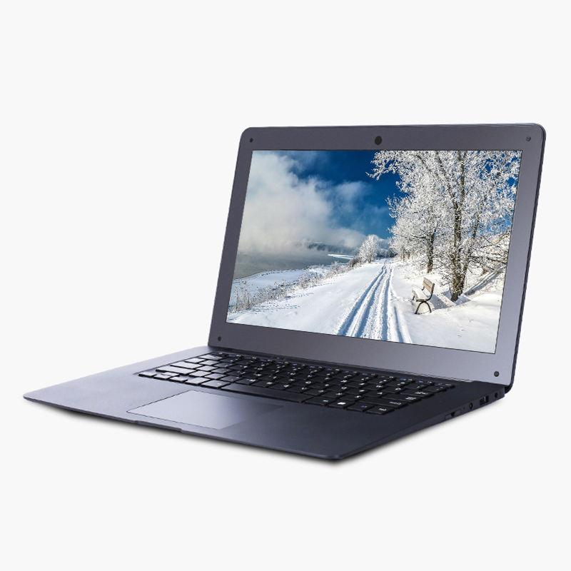 זול 14 אינץ ultrabook עם 4G RAM 64G ROM Intel Atom X5-Z8300 Quad core 1.44Ghz Windows10 מערכת מחשב נייד WIFI