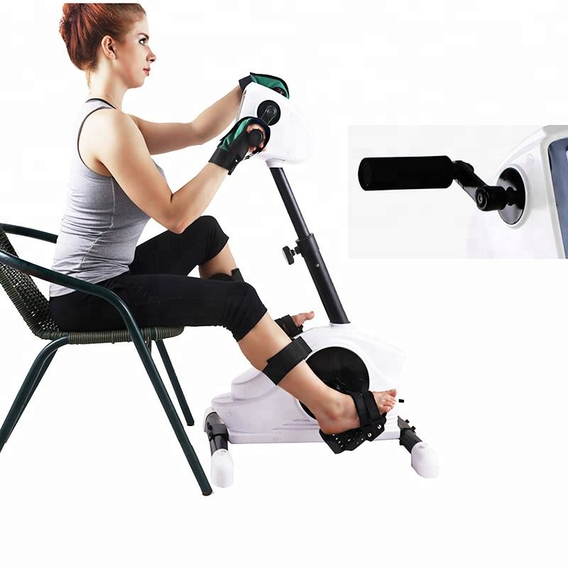 LCD display Lightweight Indoor use Electronic Leg Exercise Automatic Magnetic exercise bike