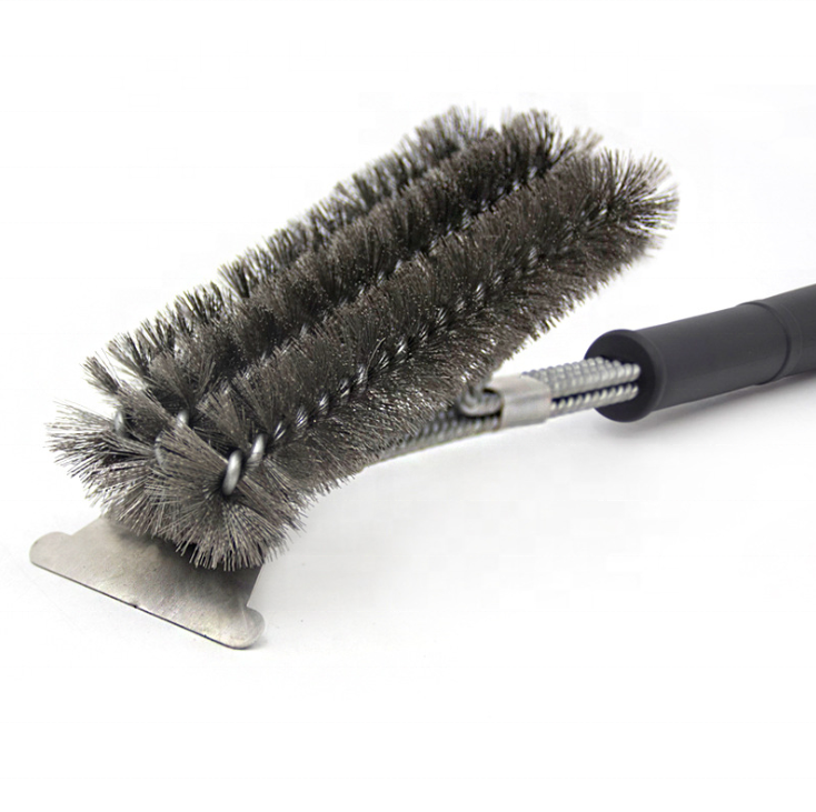 Wholesale Grill Brush And Scraper Grill Accessories BBQ Clean Brush