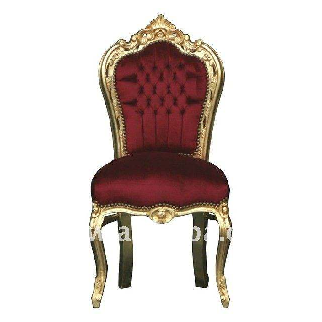 Baroque antique dining chair french furniture reproductions