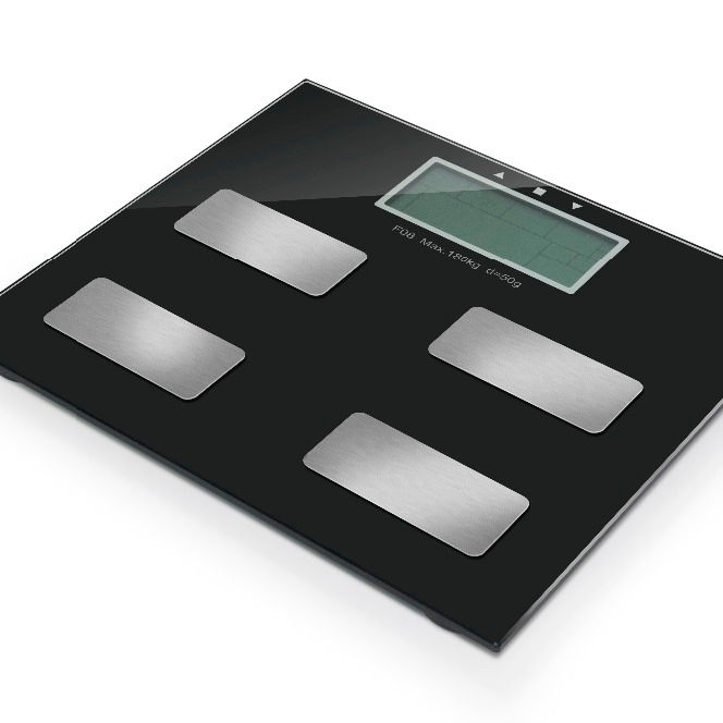Digital Body Fat Scale Platform Weighing Scale for Analysis of Body Mass Index(BMI)