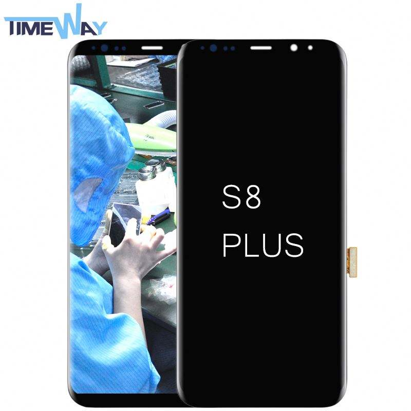 Wholesale Cell Phone Lcd Touch Screen for Samsung S8 plus, Lcd Replacement for Samsung S8 plus