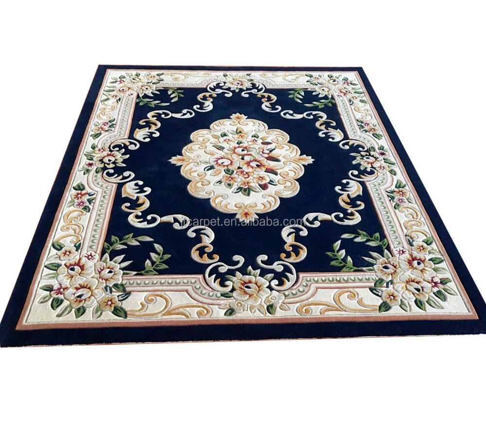 Design persan ou d'autres collections de fleurs <span class=keywords><strong>tufté</strong></span> à la main belle sculpture salon sol tapis