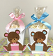 12 Mini Popcorn Box Party Favors, Popcorn Boxes, Baby shower Teddy Bear TREAT BOX