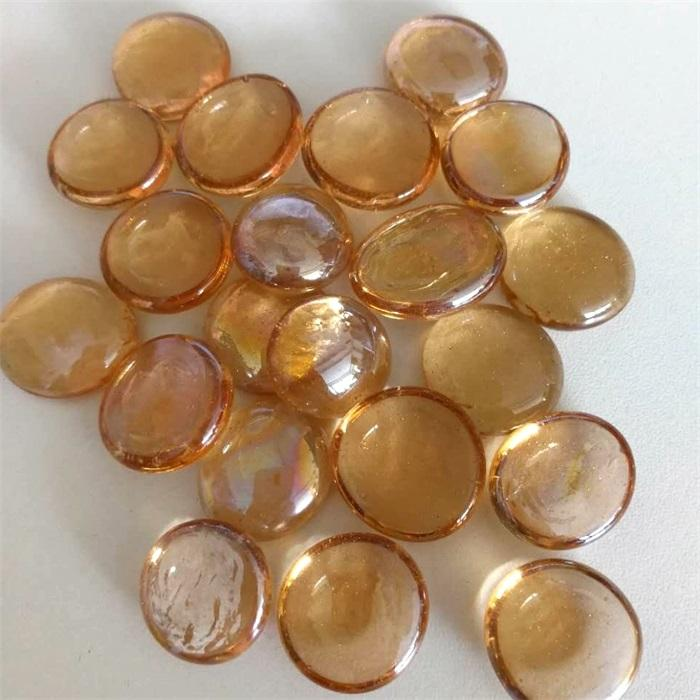 Colored Decorative Glass Gems Stones