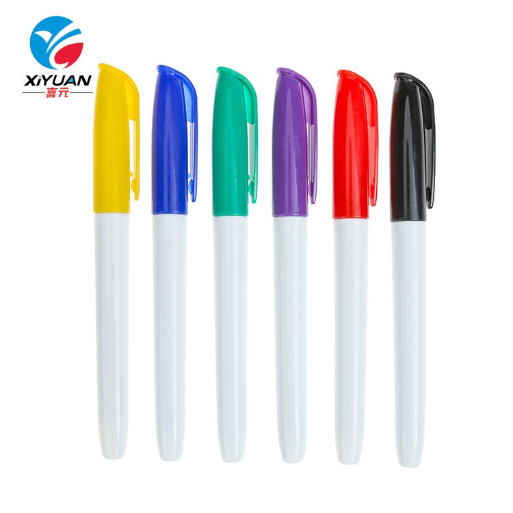 Professional made custom multicolor big refillable permanent markers erasable chalk marker