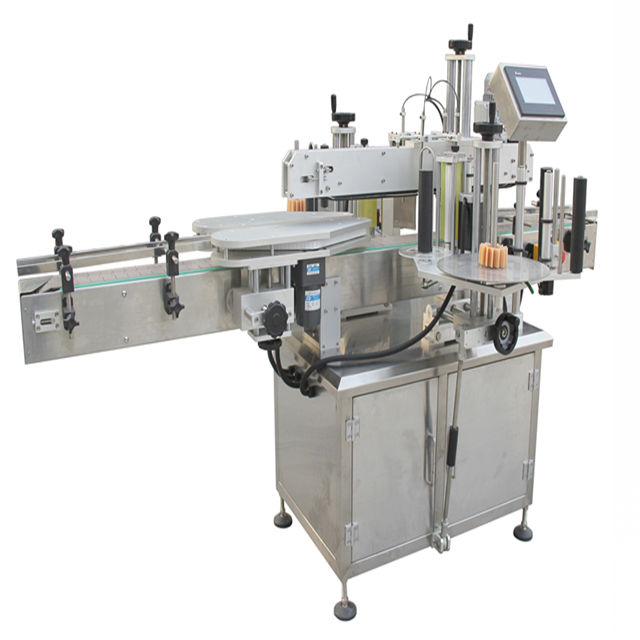 bottle filling capping and labeling machine made in Shanghai