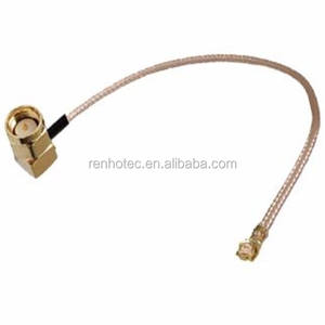 1.13 mm Pigtail Cable SMA Female to u.fl UFL / U.FL / IPX / IPEX RF Adapter Connector