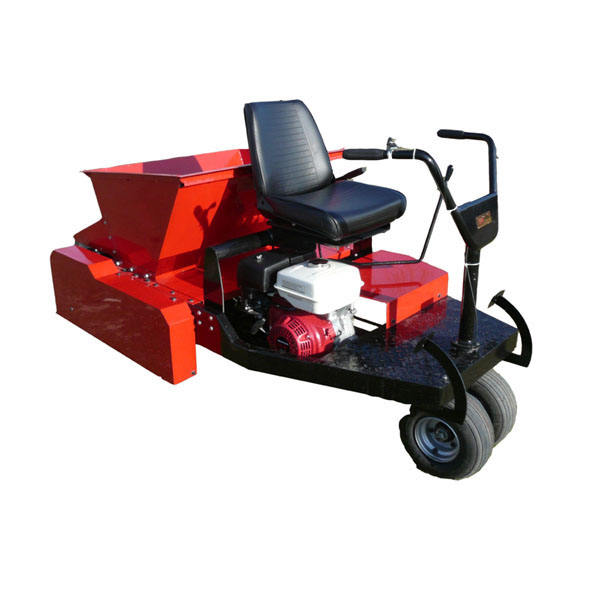 For golf putting green cover sand turf spreader machine