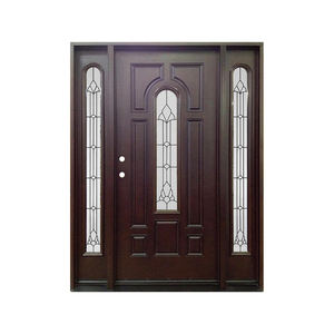 Best selling products fiberglass composites entry door for sale